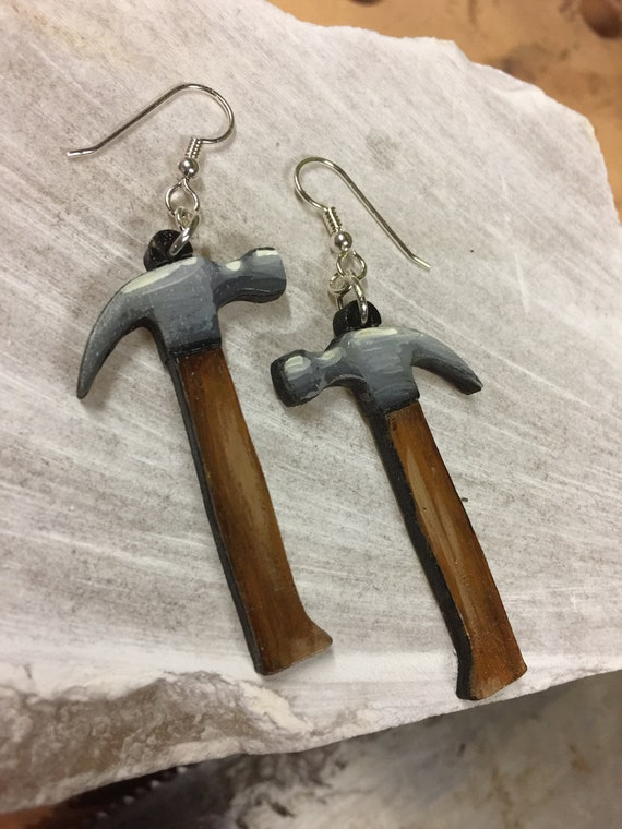 Hammer earrings