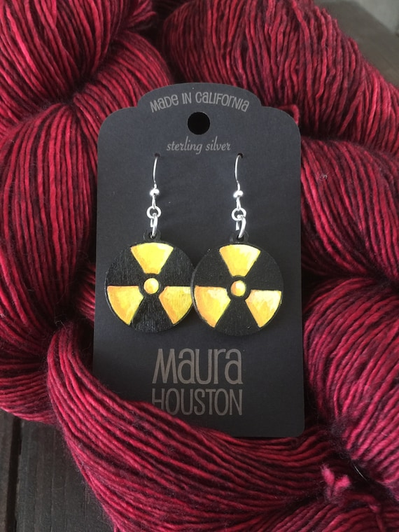 Radioactive Earrings