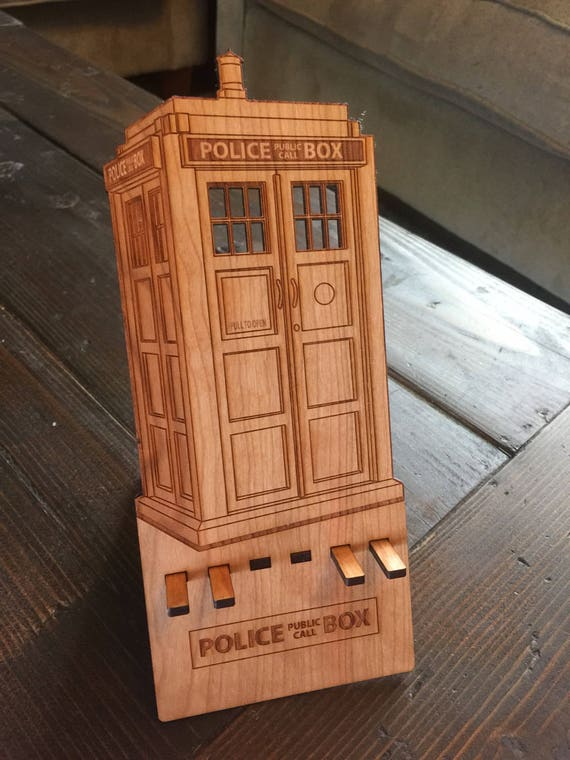 Dr Who. Tardis Smart Phone Stand