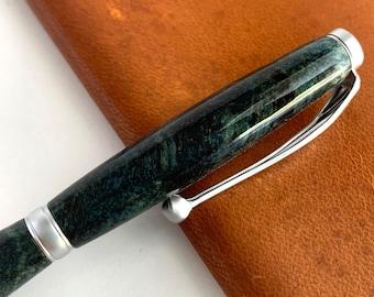 Hand Turned Fancy Slimline Style Pen