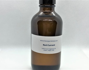 Red Currant Fragrance Oil  100% Pure Safe for Soap Making, Candles, Body Wash, Shampoo etc.  5ml & Up