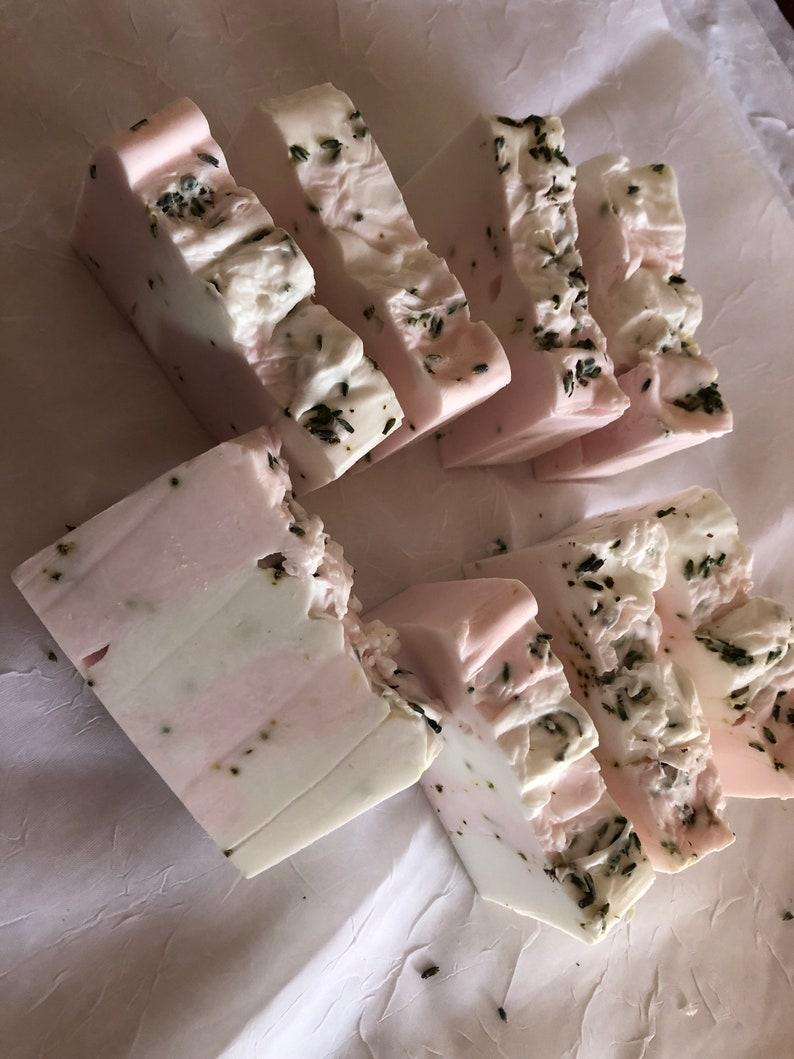 Bergamot Soap Loaf 2 Lb.  Upick Block or Sliced  with image 0