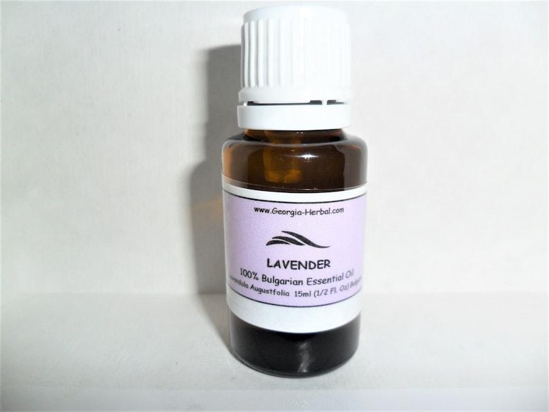 Bulgarian Lavender     Therapeutic Grade   100% Lavendula image 0