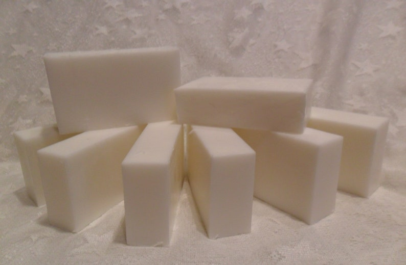 2 Lb GOATS MILK Soap Loaf   8  1 Sliced or Whole image 0