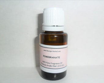 Pomegranate Fragrance Oil  U Pick Size For all crafting, Soaps, Candle etc  Premium Grade   U Pick Size
