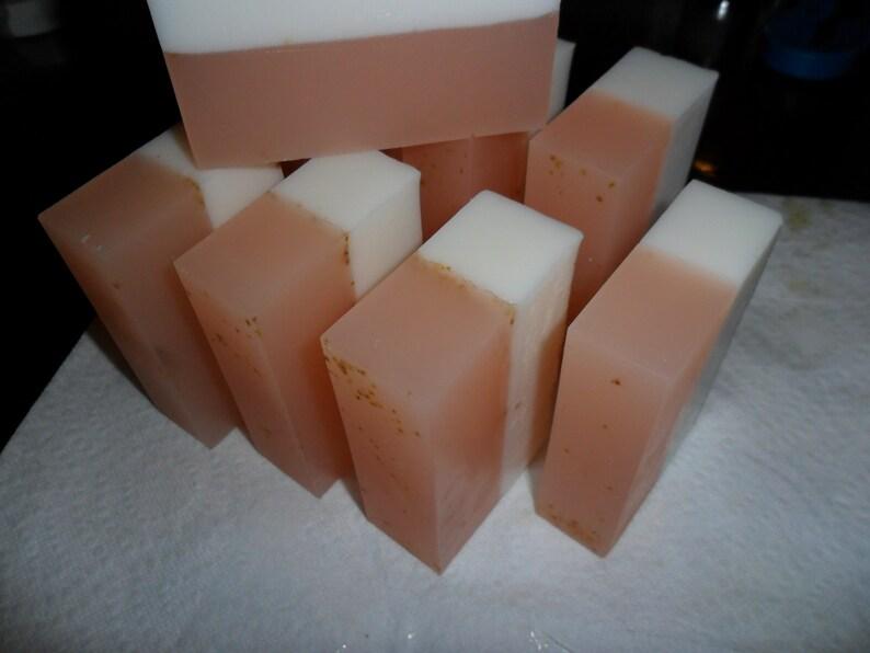 Orange Fig Soap Loaf     Standard Shea Butter Base image 0