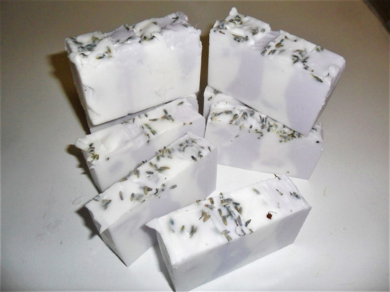 Handmade Bulgarian Lavender Soap Loaf  Least 2 Lbs U Pick image 0
