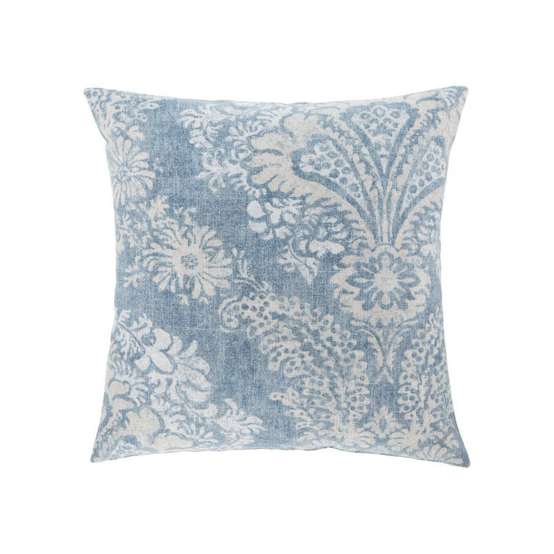 BLUE Pillow Cover.Decorator Pillow Cover.Home Decor.Large image 0