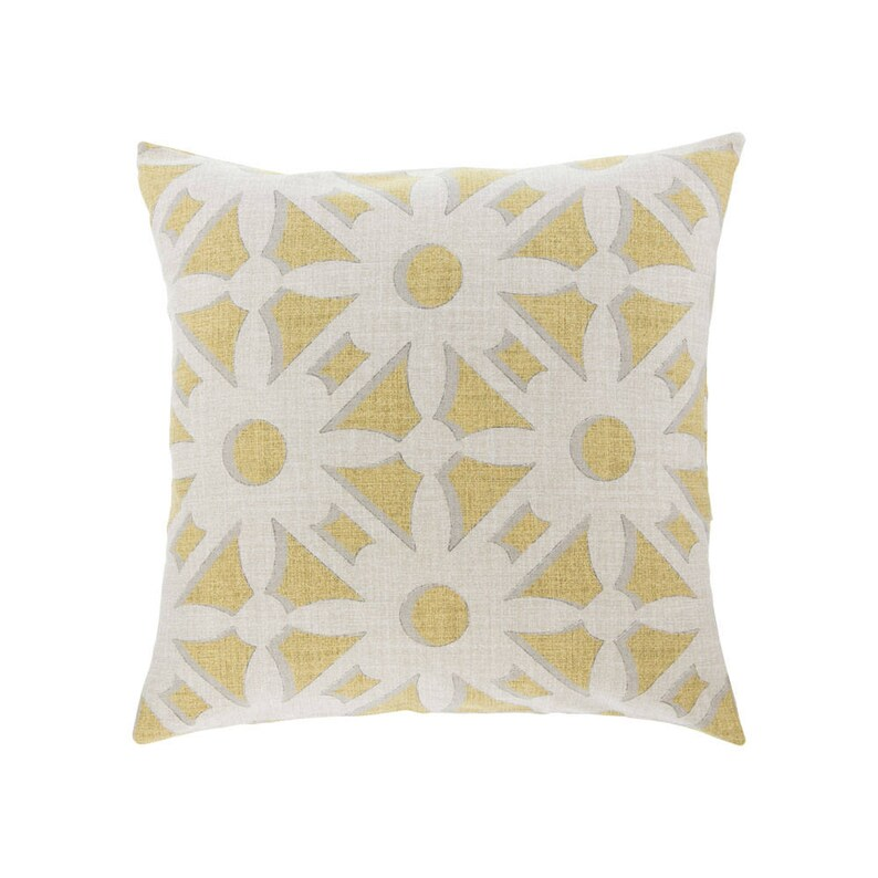 NEUTRAL Gold Pillow Cover.Decorator Pillow Cover.Home image 0