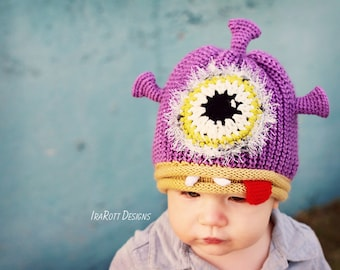 Alien Monster Hat for Babies and Toddlers - Ready to ship 201805717db