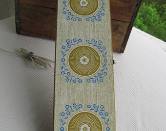 Vintage Warming Hot Tray Cornflower Blue Extra Long