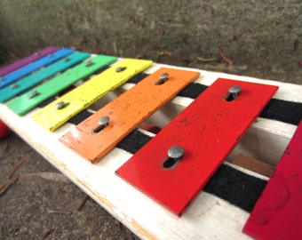 Vintage 1964 Fisher Price Pull A Tune Xylophone