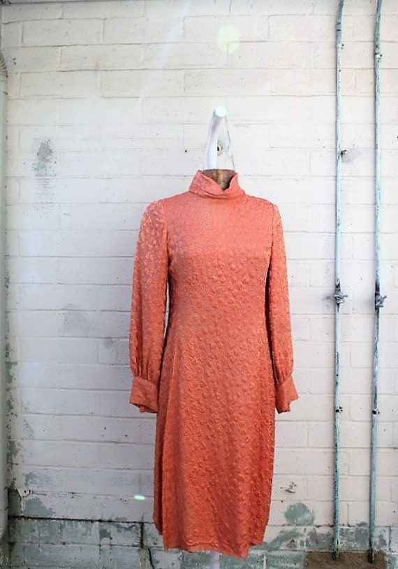 Medium 1970s dress/Carol Brady Dress/The Brady Bunch/Maxi Dress/Haight Ashbury Hippie Dress/Boho Dress//Vintage dress/Music festival  Dress/