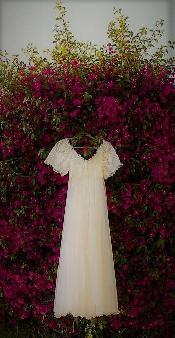 Vintage Tosca White Bridal Peignoir Nightgown Set Bridal white ... d375832a4