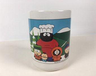 9f5fc9f79b3 Vintage South Park Mug Comedy Central Ceramic