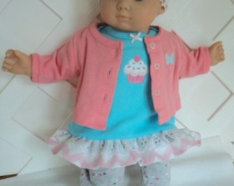 1 PCS Fashion Outfit Black Jumpsuit FOR 11 in Doll Clothes