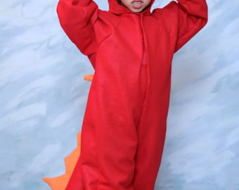 Red Dragon Costume