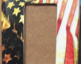 Stars and Stripes-Flag GFCI/Rocker switch plate cover - free shipping - 1003USA