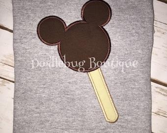 Mickey Mouse ice cream bar shirt