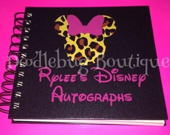 Customized Disney Autograph book