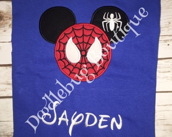 Spiderman Mickey Mouse shirt