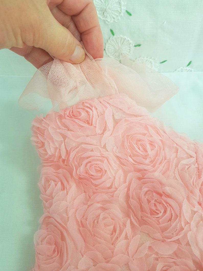 girls pink tulle dress tutu ballet dancer 90s dress spring summer tulle layers