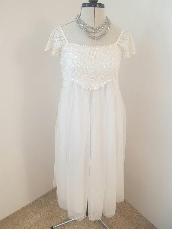 white georgian style dress, bridgerton wedding bri