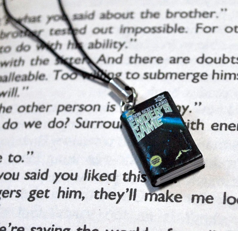 Ender's Game Book Charm image 0