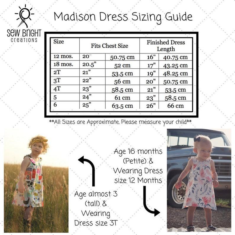 Unicorn Dress Sew Bright Creations Baby Dress Toddler Dress Girls Summer Dress UNICORN Madison Dress Unicorn Birthday