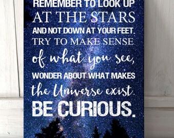 Stars Quote Etsy