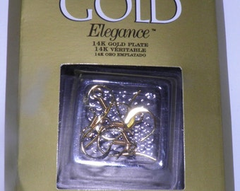 ON SALE  Cousin - 14K Gold Plated Ear Hooks