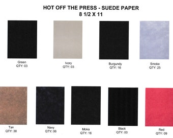 Suede Paper