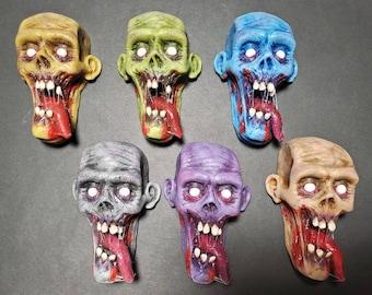Drooler Zombie magnet