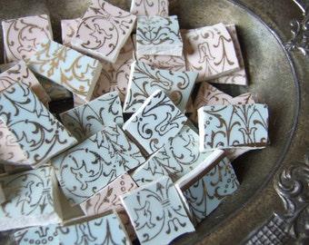 Vintage Shabby Chic Mosaic Shards