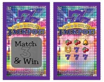 """25 Round 1/"""" BLACK SCRATCH OFF Stickers Labels Games Tickets Favors Promotional"""