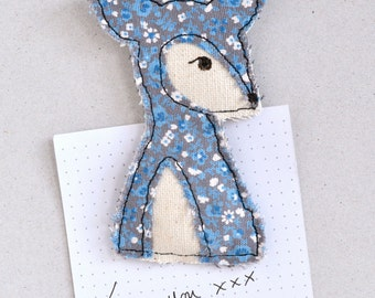 LAST ONE! Cute Embroidered Deer Magnet