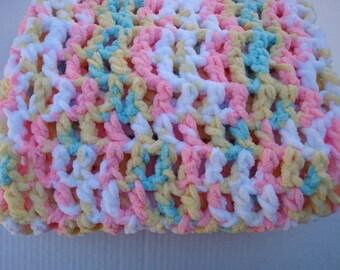 Hand Crochet Items, Crochet Baby Blanket, Stroller Blanket, Photo Prop, Car Seat, Nursery Blanket, Childs Blanket, Crochet Baby Afghan