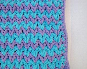 Baby Blanket, Crochet Newborn Blanket, Receiving Blanket Wheel Chair Blanket, Photo Prop Baby Blanket, Crochet Baby Afghan, Car Seat Blanket