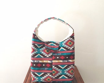 7018defdfd700 Lunch Bag Insulated Southwestern Print
