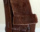 WW II Swiss Pony Fur Backpack