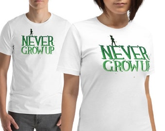 Never Grow Up | Unisex T-Shirt