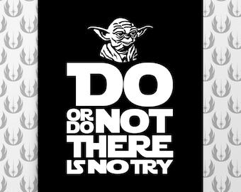 Yoda Quote | Giclee