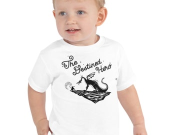 The Destined Hero - Children Jersey Short Sleeve TShirt | Baby, Toddler and Youth sizes