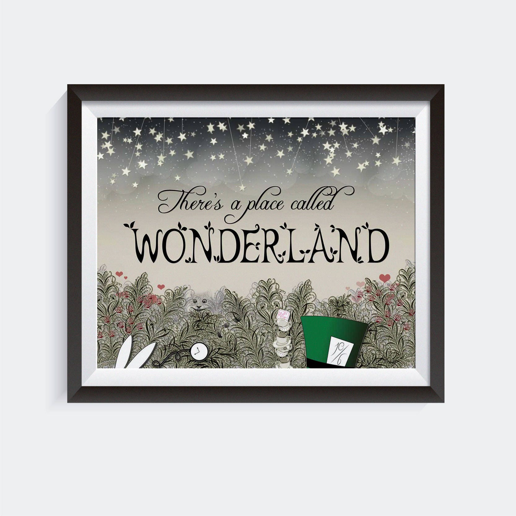 There's a Place Called Wonderland | Giclee