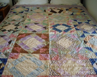 1950s Handmade Quilt