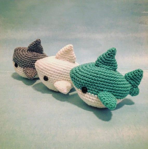 Crochet Shark Pattern Pdf Instant Download