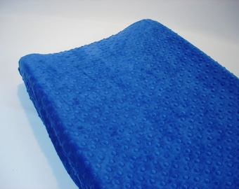 Cobalt Blue Changing Pad Cover
