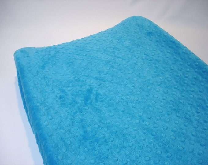Turquoise Blue Changing Pad Cover