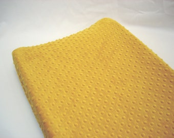 Gold Yellow Changing Pad Cover