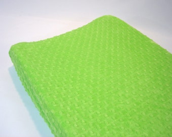 Lime Green Changing Pad Cover